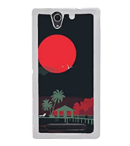 Night 2D Hard Polycarbonate Designer Back Case Cover for Sony Xperia C3 Dual :: Sony Xperia C3 Dual D2502