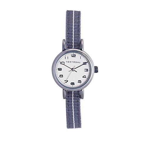 tokyobay-t394-gy-da-donna-fascia-in-nylon-bicolore-in-acciaio-inox-quadrante-bianco-smart-watch