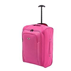 FlyGEAR Cabin Approved Super Lightweight Hand Luggage Travel Wheel Holdall Suitcase Backpack Rucksack Bag Fits Easyjet Ryanair & Many More - 1.3k - 41 Litres