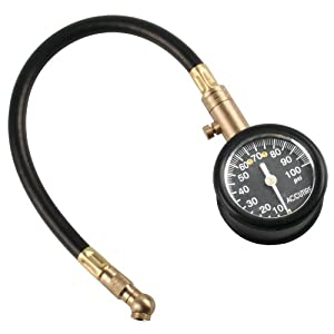 Accutire MS-5010 Heavy Duty Dial Tire Gauge