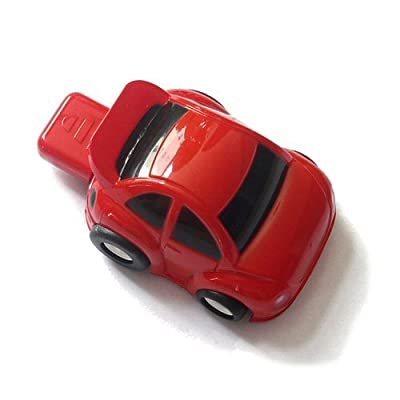 2GB Red Car Novelty USB Flash Drive from VTEC