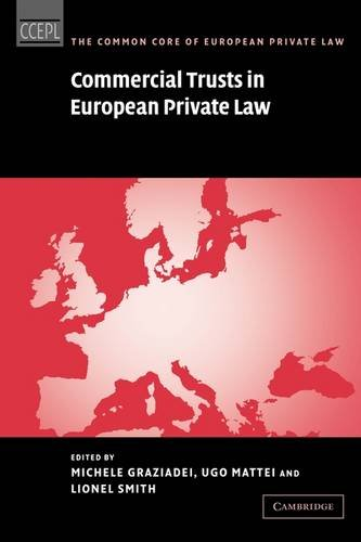 Image for publication on Commercial Trusts in European Private Law (The Common Core of European Private Law)