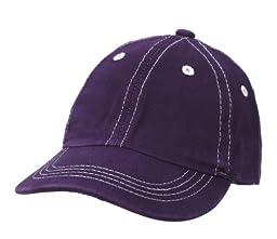 City Thread Unisex Baby Solid Baseball Hat - Purple - M(6-18M)