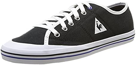 Le Coq Sportif Grandville, Baskets mode mixte adulte - Noir (Black/Cobalt), 36 EU