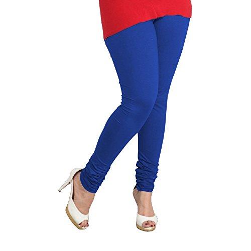 Lux Women Cotton Leggings -Ink Blue-L 49 -Free Size
