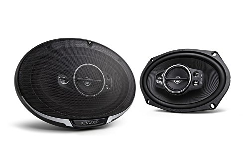 Kenwood KFC-6995PS 6 x 9 Inches 5-Way 650W Speakers, Set of
