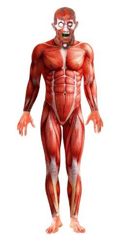 Smiffy's Anatomy Man Costume, Multi, Large