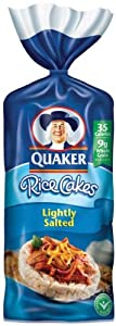 Quaker Rice Cakes Lightly Salted - (Case of 12)