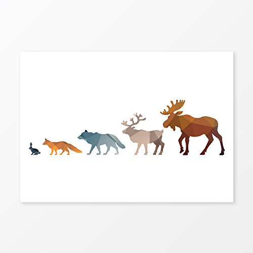 woodland-animals-nursery-wall-art-print-size-5x7-8x10-11x14-a5-a4-or-a3-forest-animal-home-decor