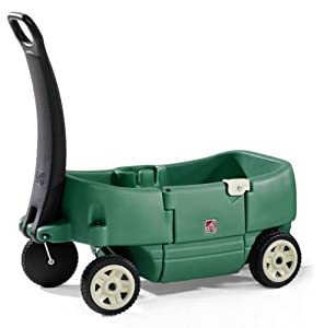 Step 2 Wagon for Two Plus Willow Green
