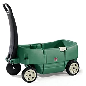 Papush Step 2 Wagon for Two Plus Willow Green at Sears.com