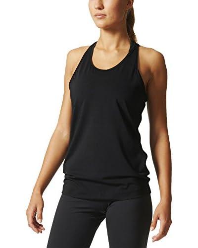 adidas Top Basic Solid Tan schwarz