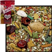 Premium Bird Food for Small Parrot - No Sunflower Seeds - 3 lb.