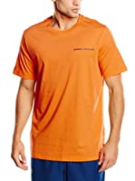 Under Armour Camiseta Manga Corta Fitness Charged (Naranja)