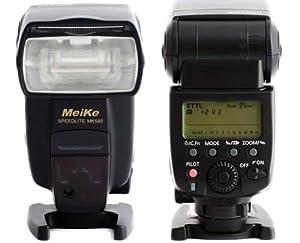 P-Franken by MeiKe Speedlite MK580 Flash (numero guida 42) per Canon - E-TTL II - E-TTL - TTL - Simile 580EX II