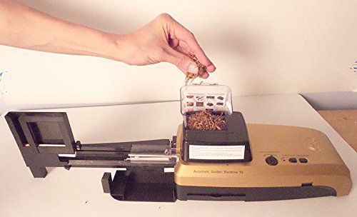 golden rainbow cigarette rolling machine