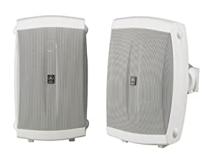 Yamaha NS-AW150W 2-Way Outdoor Speakers (Pair, White)