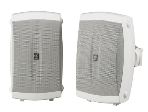 Why Choose The Yamaha NS-AW150W 2-Way Outdoor Speakers (Pair, White)