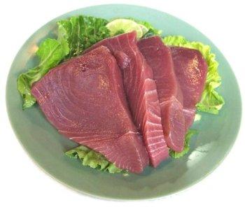 2 lbs. Yellow Fin Tuna Steaks