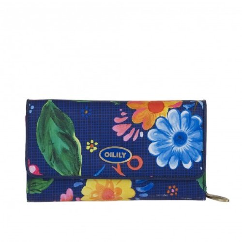 Oilily Russian Rose L Wallet Midnight