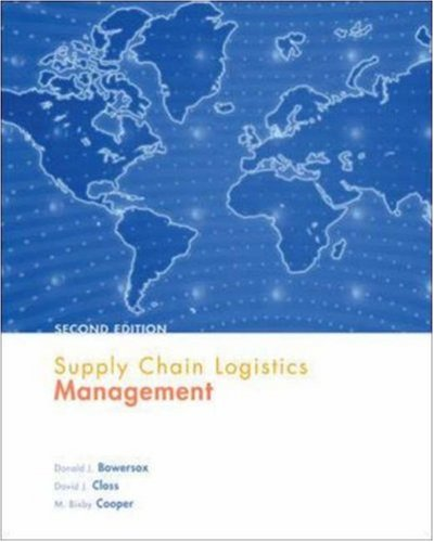 Supply Chain Logistics Management (Operations