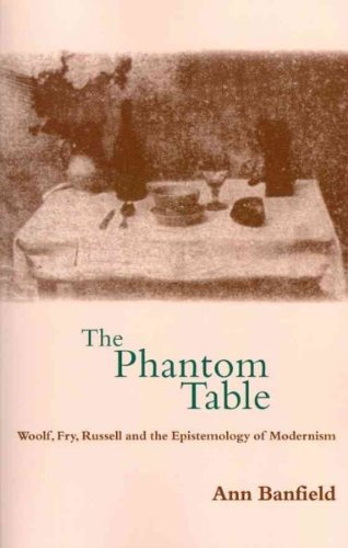 The Phantom Table: Woolf, Fry, Russell and the Epistemology of Modernism