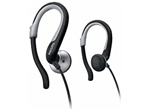 Philips SHS4840/28 Earhook Headphones, Black