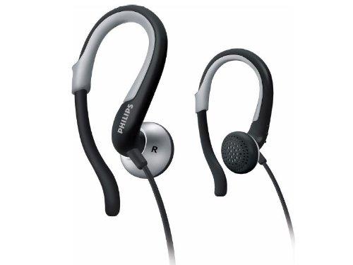 Philips Adjustable Earhook Headsphones Shs4840/28 (Silver)