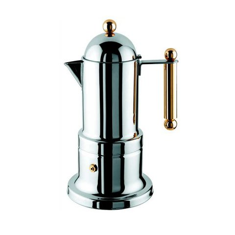 Metal Coffee Maker For Stove : NEW STOVE TOP STAINLESS STEEL ESPRESSO COFFEE MAKER eBay
