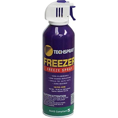 Techspray 1672-10S 10 oz. Envi-Ro-Tech Freeze Spray -2 pack
