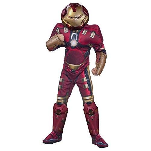 [GSG Hulkbuster Costume Kids Man Hero Halloween Fancy Dress Up] (Hulkbuster Costume For Kids)