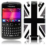 Blackberry Curve 9360 'Cool Britannia Black' (Designed by Creative Eleven) TPU Gel Skin / Case / Cover Part Of The Qubits Accessories Rangeby Qubits