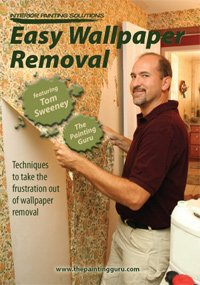 easy wallpaper removal dvd the painting guru