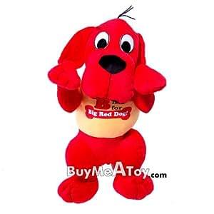 New 19 inch Big Red Dog Clifford Plush Doll - Kids Large plush dolls