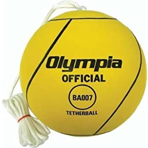 Amazon.com: Specialty Balls - Olympia Rubber Tetherball ...