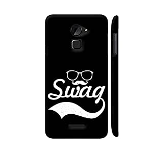 Colorpur Glasses Moustache Swag On Black Designer Mobile Phone Case Back Cover For Coolpad Note 3 Lite | Artist: Designer Chennai