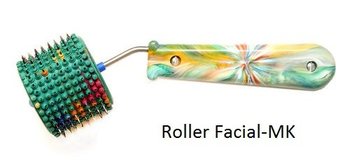 Acupuncture For Body Massage - Acupressure Applicator Lyapko Roller Facial-Mk