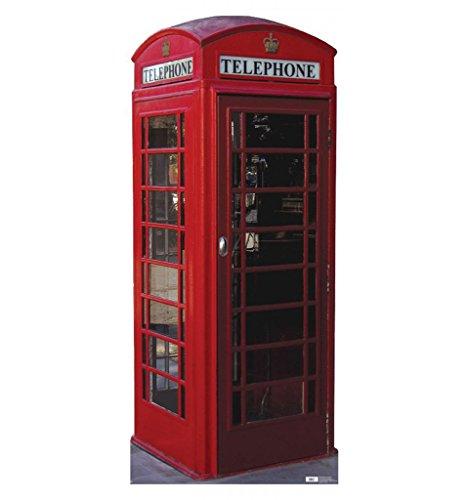 English Phone Booth - Advanced Graphics Life Size Cardboard Standup