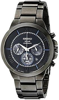 Seiko SSC287 Solar-Powered Chrono Men's Watch
