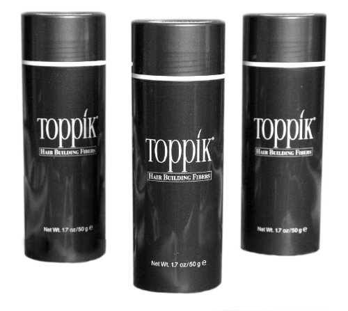 Toppik Giant 50g (1.75oz) x 3 containers Dark Brown