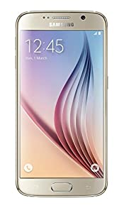 Samsung Galaxy S6 UK SIM-Free Android Smartphone - Gold (Certified Refurbished)