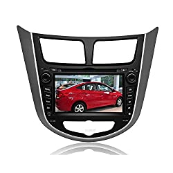 See Pupug 7 Inch In Dash Car DVD Player Special for Hyundai Accent Verna Solaris with Bluetooth Touchscreen DVD GPS Navigation System Multi Media Radio AV Receiver Navigation SD/USB IPOD AUX In +Free US Map Details