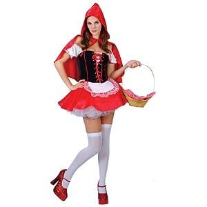 sexy rotk ppchen fasching verkleidung f r frauen karneval halloween kost m l spielzeug. Black Bedroom Furniture Sets. Home Design Ideas