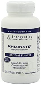 Integrative Therapeutics Rhizinate, Chewable, 100 Tablets