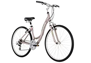 Diamondback Vital 2 LX Women's Sport Hybrid Bike (700c Wheels), Metal Purple, Small/15-Inch