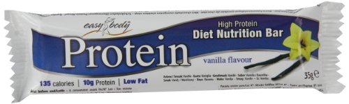 Easy Body Protein 35 g Vanilla High Protein Snack Bars - Box of 24