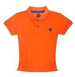 Vitamins Boys' T-Shirt (08Tb-704-2-Orange_Orange_2 - 3 Years)