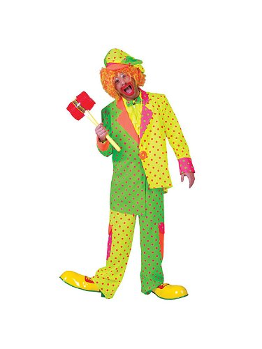 Pokey Dot Clown Costume - Mens
