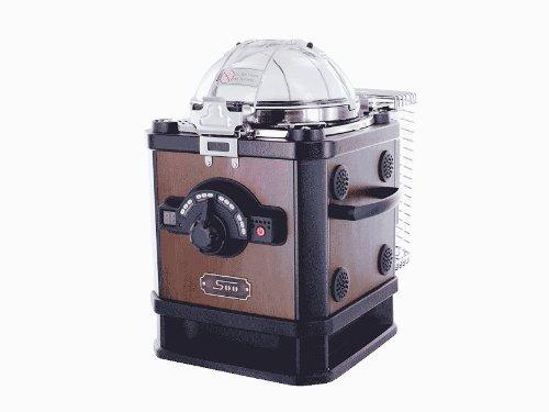 【セット品】家庭用珈琲電気焙煎機2点セット (コーヒービーンロースター C100CR-N、ハリオ 珈琲キャニスター MCN-200)