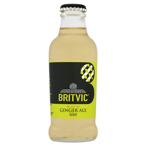 Britvic Ginger Ale 24x160ml Glass Bottles
